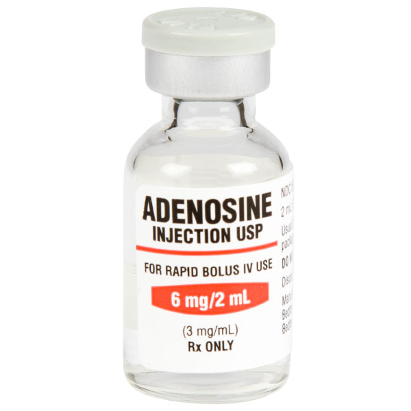 Adenosine Injection, USP 6mg/2mL (3mg/mL) Vial