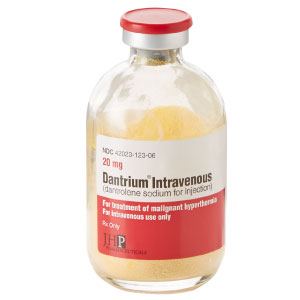 Dantrium® Intravenous 20mg 6-Pack Vial