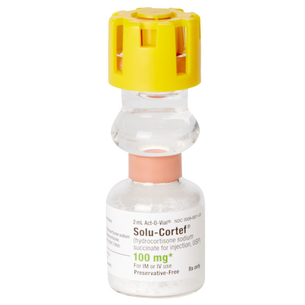 Solu-Cortef® 100mg 2mL Act-O-Vial®