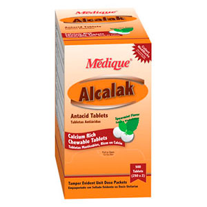Alcalak Calcium Carbonate 420mg (6 Tablets)