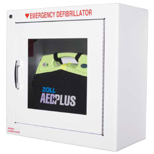 AED, Zoll Metal Wall Cabinet Alarmed