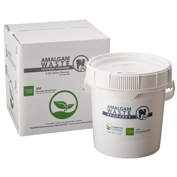 Amalgam, 1.25 Gal Waste Recovery Container