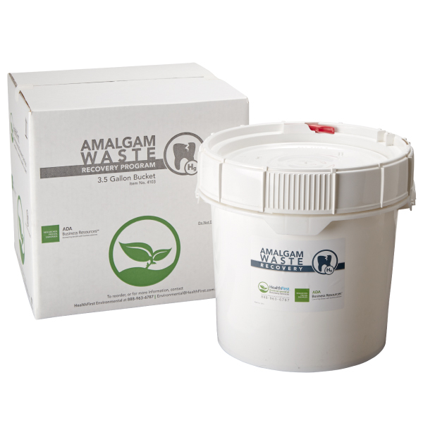Amalgam, 3.5 Gal Waste Recovery Container