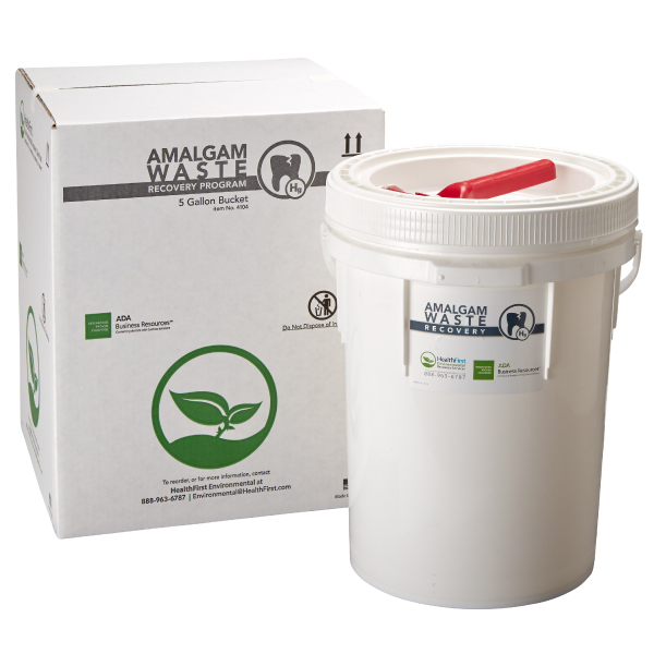 Amalgam, 5 Gal Waste Recovery Container