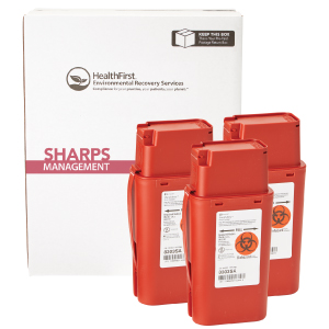 Sharps, 1 Quart 3 Pack