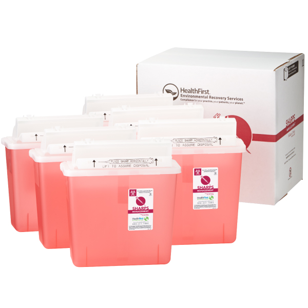 Sharps, 5 Quart 6 Pack