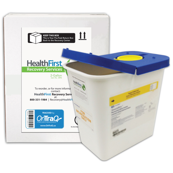 Pharma, 2 Gallon Pharmaceutical Recovery
