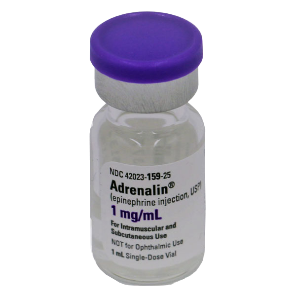 Adrenalin® (Epinephrine Injection, USP) 1mg/mL 1:1000 Vial