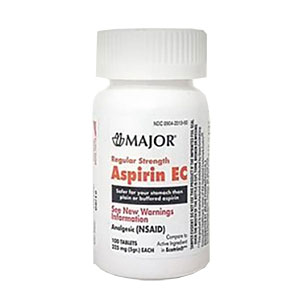 Aspirin 325mg 100 per bottle