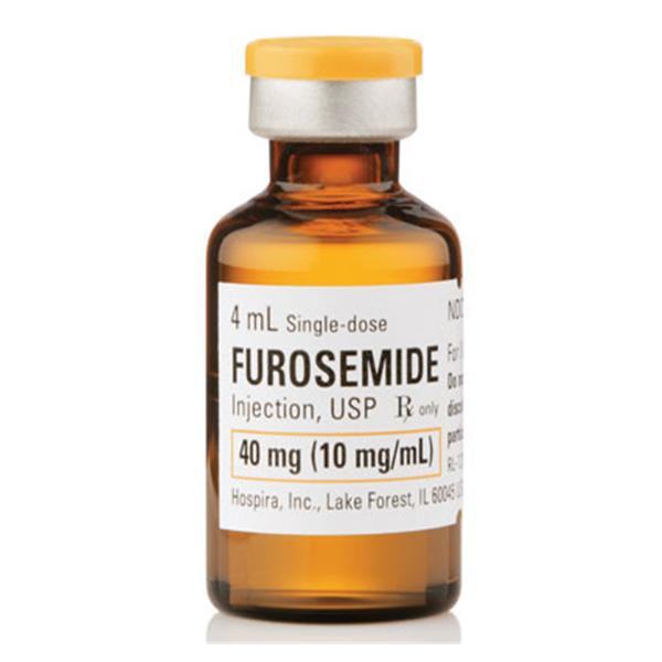 Furosemide Injection, USP 40mg/4mL (10 mg/mL) 4mL vial