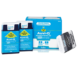 Auvi-Q® Epinephrine Injection, USP 0.15mg 2-Pack Auto Injector