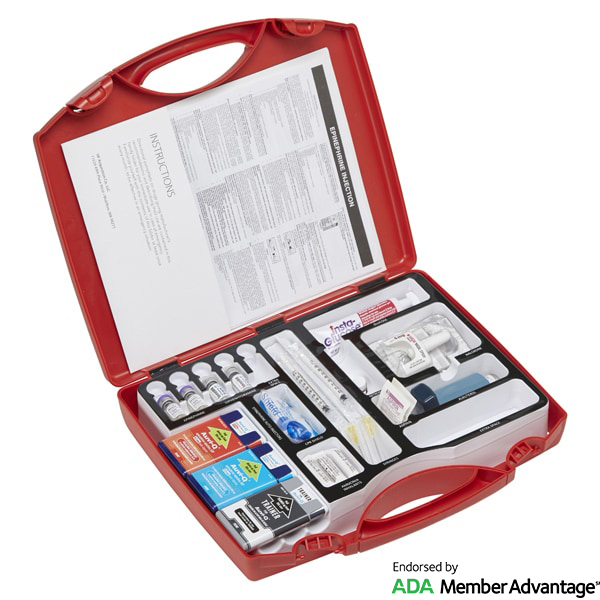 SM27 Emergency Medical Kit for Dentists - Adult And Pedi